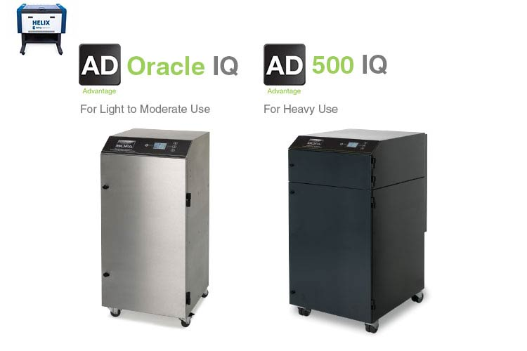 helix laser ad oracle iq and ad 500 iq