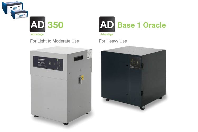 mini machines ad 350 and base 1 oracle